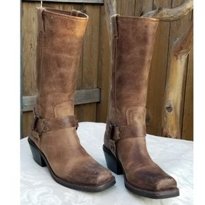 Bcbg Girls moto harness western riding boots